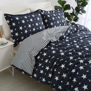 Starry Night 250TC Egyptian Cotton Printed Quilt Cover Set