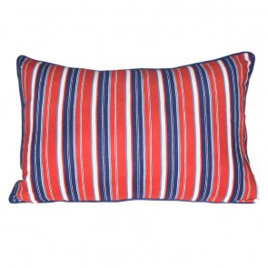 Stars & Stripes Stripe Cushion by Lullaby Linen