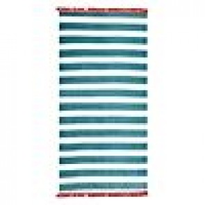 Stripe Beach Towel with Tassels by Accessorize