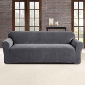 Sofa Cover 3 Seater Stretch Pearson by Sure Fit
