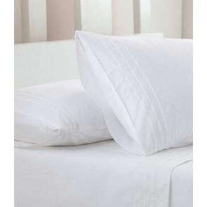 Lucia White European Pillowcase Set by MM Linen