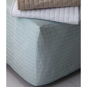 Lucia Seafoam Bedskirt by MM Linen