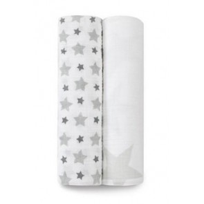 Twinkle Classic 2-Pack Muslin Swaddles by Aden and Anais