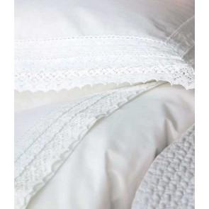 Tabatha White Sheet Set by MM Linen