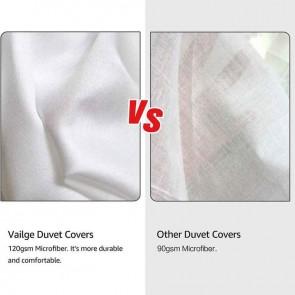 Cream 1000TC Tailored Diamond Pintuck Quilt Cover Set