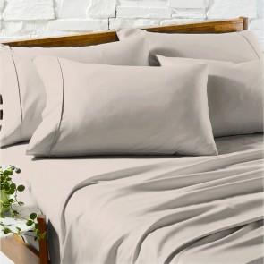 Taupe 1200TC Premium Cotton Blend Sheet Sets by Ddecor Home