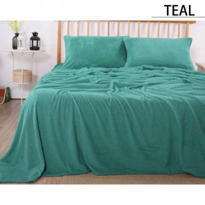 Teddy Single Fleece Sheet Set by Ramesses
