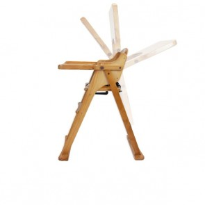 Baltic Timber Folding High Chair by Babyhood