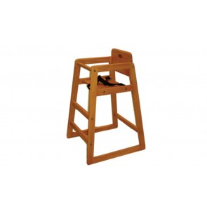 Timber Restaurant High Chair by Babyhood