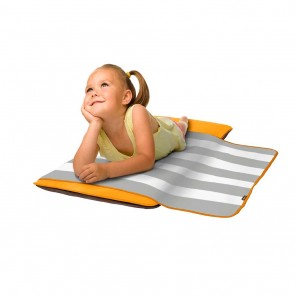 Toddler Siesta Nap Pad (with built in Self inflating Technology) by The Shrunks
