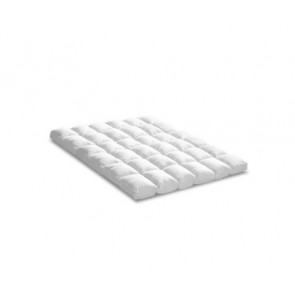 QUEEN 1800GSM Mattress Topper Duck Feather Down 9cm Pillowtop Topper by Giselle Bedding