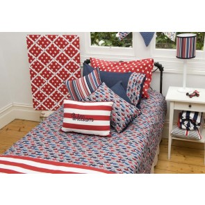 Traffic Jam Double Quilt Cover by Lullaby Linen