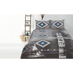 Tribe Double Quilt Cover Set by Retro Home