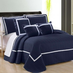 Two-Tone Embossed Comforter Set (6 or 10-Piece)