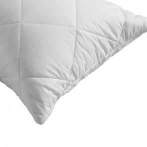 V shape Dreamaker Cotton Cover Microfibre Filling Quilted Pillow Protector