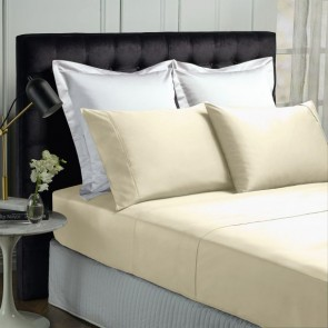 500 Thread Count Natural Bamboo Cotton Sheet Sets by Park Avenue