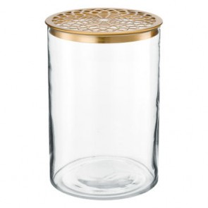Vase with Metal Lid by VTWonen