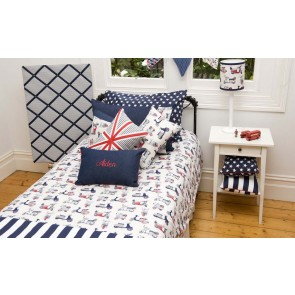 Vespa Kids Quilt Cover Bedding by Lullaby Linen