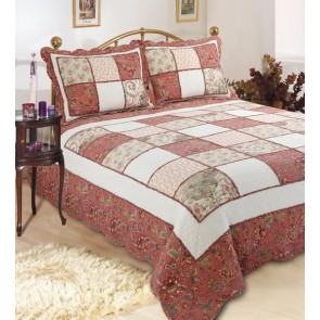 Victorian Garden Bedspread by Classic Quilts