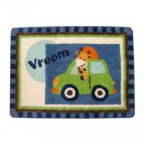Vroom Rug by Lambs N Ivy