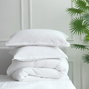 Cotton Waffle Quilt Cover Set by MM linen