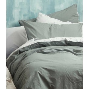 Washed Cotton Super King Quilt Cover Set by MM Linen