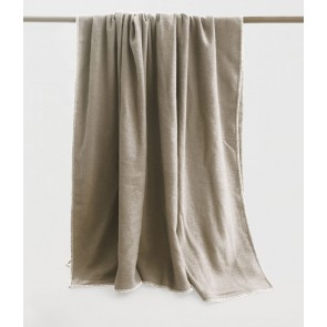 Wellshead Queen Bed Taupe Blanket by MM linen