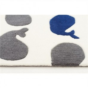 Whales Kids Rug by Unitex