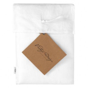 White 100% Hemp Sheet Set by Vintage Design