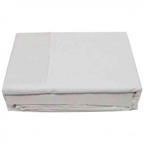 White or Ivory 500TC Pure Cotton Bed Sheets Set