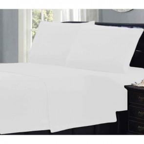 Plain Ultra soft Micro Flannelette Sheet Set by Ramesses
