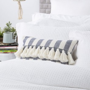 White Perennial Cotton Waffle Quilt Cover set by Park Avenue