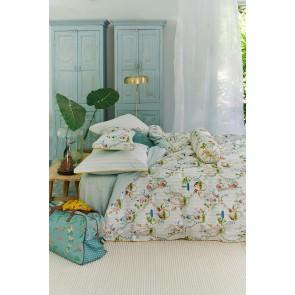 White Singerie Cotton Quilt Cover Set by Pip Studio