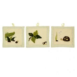 Wild Things 3pce Wall Hanging by Amani Bebe