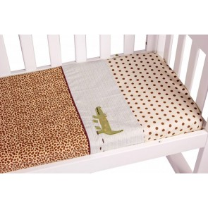Wild Things 3pce Cradle Sheet Set by Amani Bebe