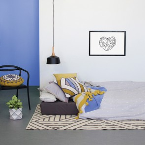 Ada square Cushion by Bambury CS