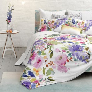 Wisteria Queen Quilt Cover Set by Bluebellgray