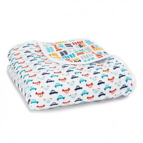 Zutano - Pup in tow Classic Muslin Dream Blanket by Aden and Anais