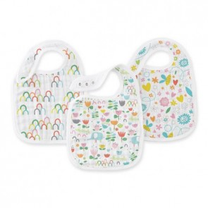 Zutano - Fairground Classic 3-pk Snap Bibs by Aden and Anais