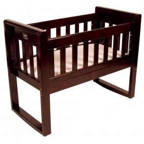 Zimbali Cradle & Rocking Seat English Oak by Babyhood