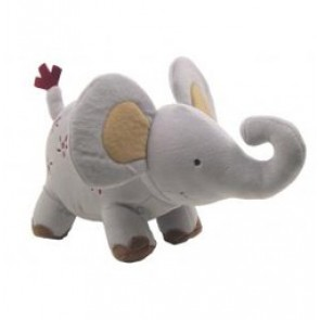 Zoofari Elephant Plush Toy by Lambs N Ivy