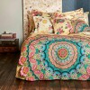 Desigual Living Sweet Mandala Queen Quilt Cover set by Bambury