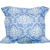 BlueBird Flange Cushion by Lullaby Linen