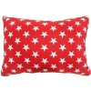 Brighton Red Star Breakfast Cushion by Lullaby Linen