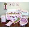 Raspberry Garden Baby Bedding by Amani Bebe