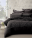 Robyn Charcoal Double Quilt Cover Set by Phase 2