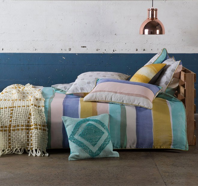 144$ price Rory Pastels Quilt Cover Set by Kas Room elan linen